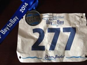 Bay2Bay 2014 Medal