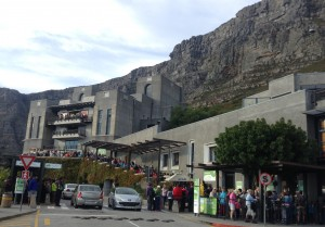 Busy Tablemountain