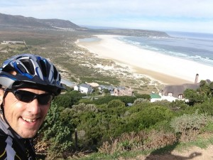On the way up to Chappies you see the stunning Nordhoek Beach. Can you beat this?