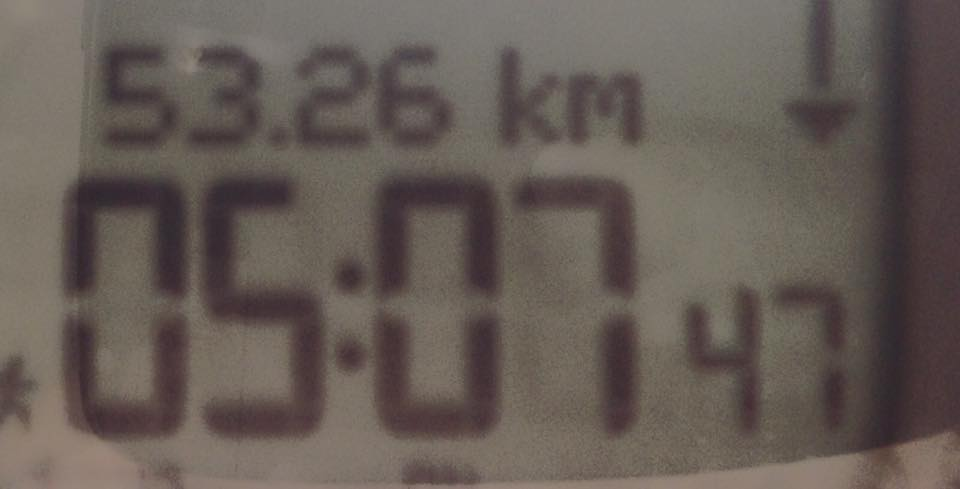 53 km training run before Two Oceans Ultra Marathon 2015 – 15.03.2015