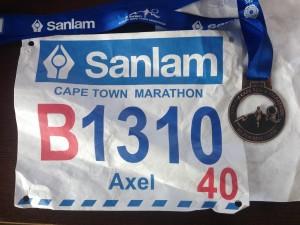 2015 Cape Town Marathon Axel Rittershaus