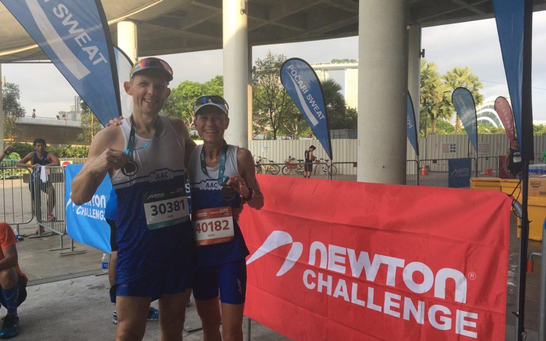 Race Review: Singapore Newton Challenge Half Marathon (21.1 km) – 29.10.2017