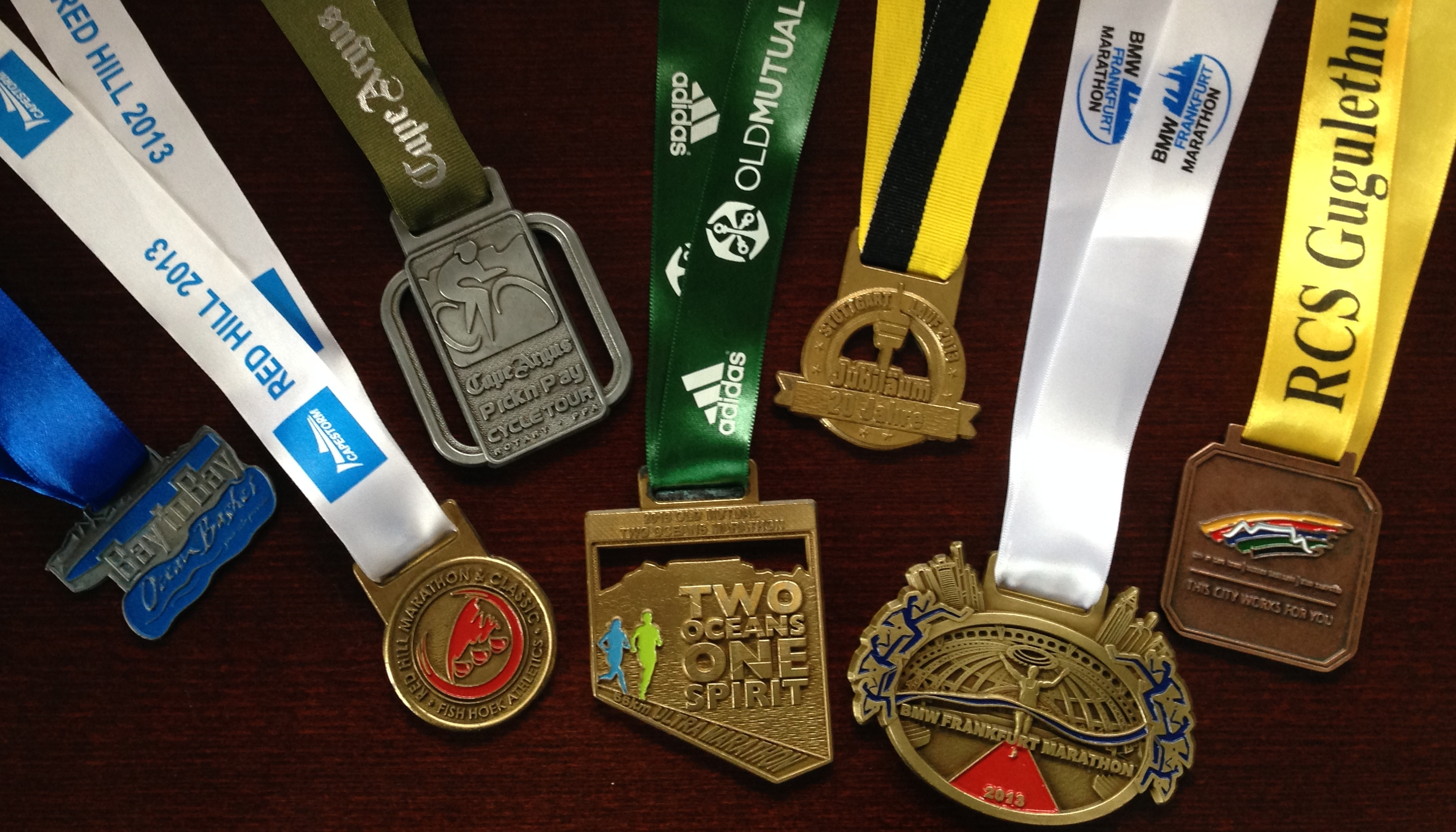 2013 medal collection