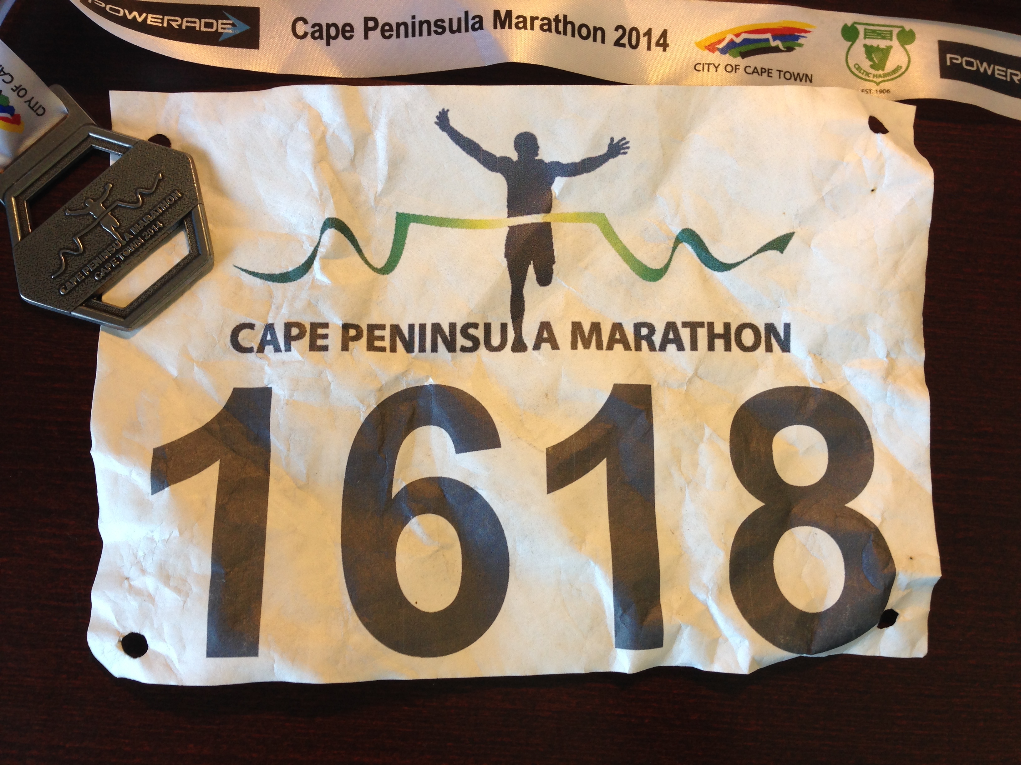 Race 3/2014 – Peninsula Marathon – HOT – 42.2 km – 16.02.2014