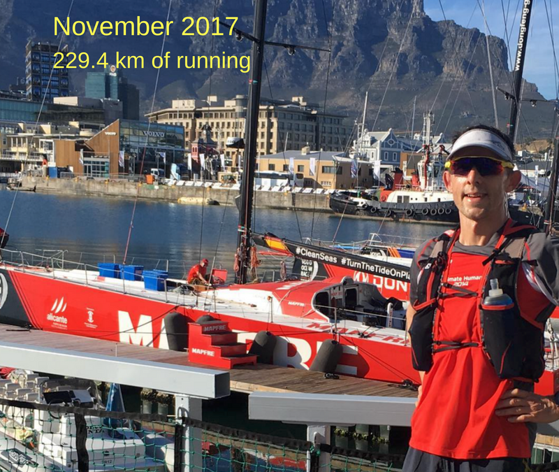 Training Summary for November 2017 – Building the foundation for Two Oceans Ultra Marathon and Comrades Marathon 2018