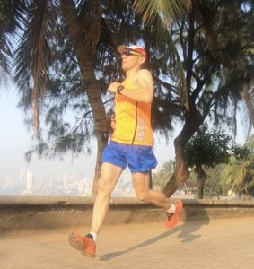 Axel running in Mumbai 2018