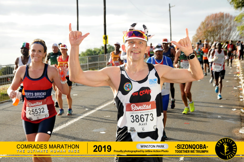 Winston Park at 2019 Comrades Marathon