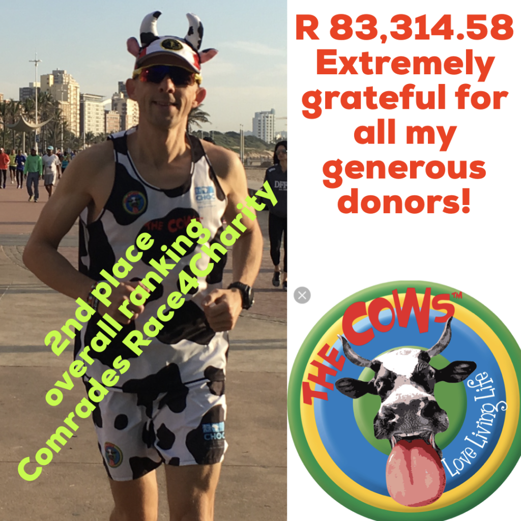 2019 Comrades Race4Charity Result